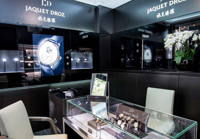 Jaquet Droz extends his boutique in Shanghai Xin Tian Di_650