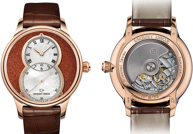 GRANDE SECONDE SUNSTONE JAQUET DROZ
