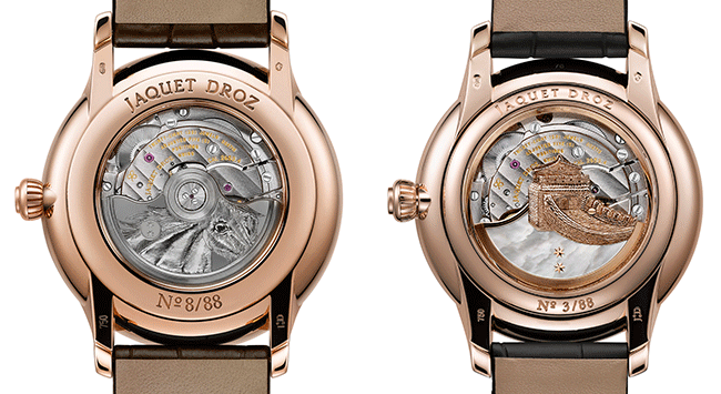 Jaquet Droz pays tribute to the sign of the horse