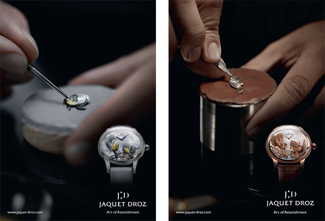 New Jaquet Droz Advertising Campaign