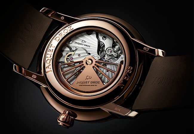 Jaquet Droz Grande Seconde Deadbeat ambiance back