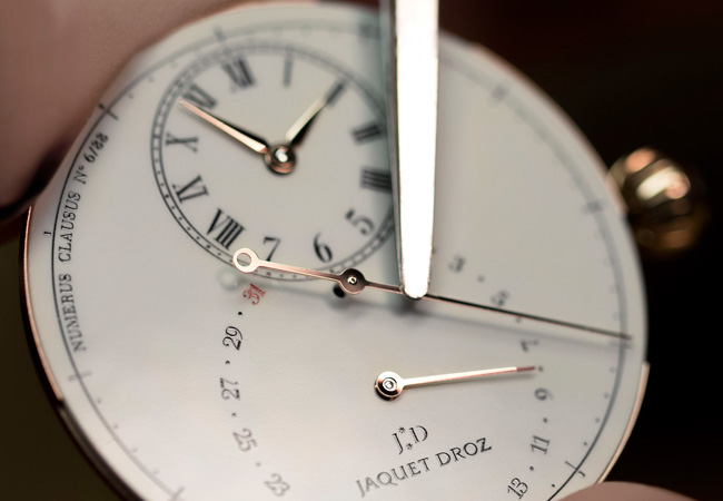 Jaquet Droz Grande Seconde Deadbeat Workshop