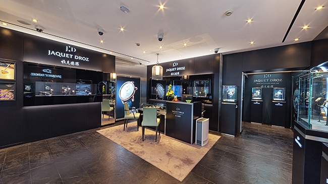 Jaquet Droz Opening in China Nov 2015 Boutique Interior