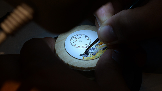 Jaquet Droz Opening in China Nov 2015 Painting Workshop