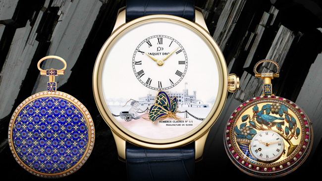 Jaquet Droz, The Philosophy of The Unique, Petite Heure Minute assortment