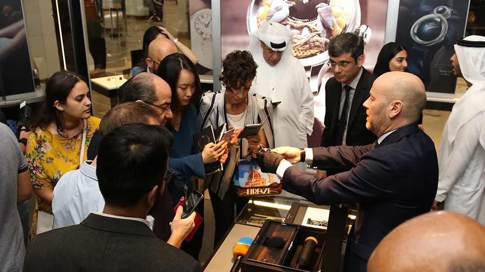 Jaquet Droz, Dubai Shopping Festival, Grande Seconde Moon Edition Limitee Dubai, J007530241, presentation
