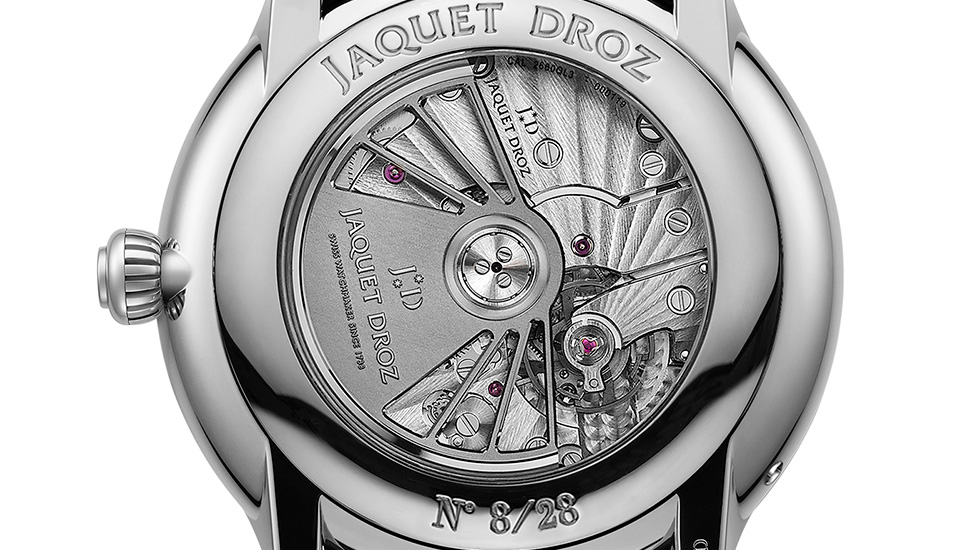 Jaquet Droz, Grande Secode Moon Limited Edition Dubai, J007530241, Close-Up Back