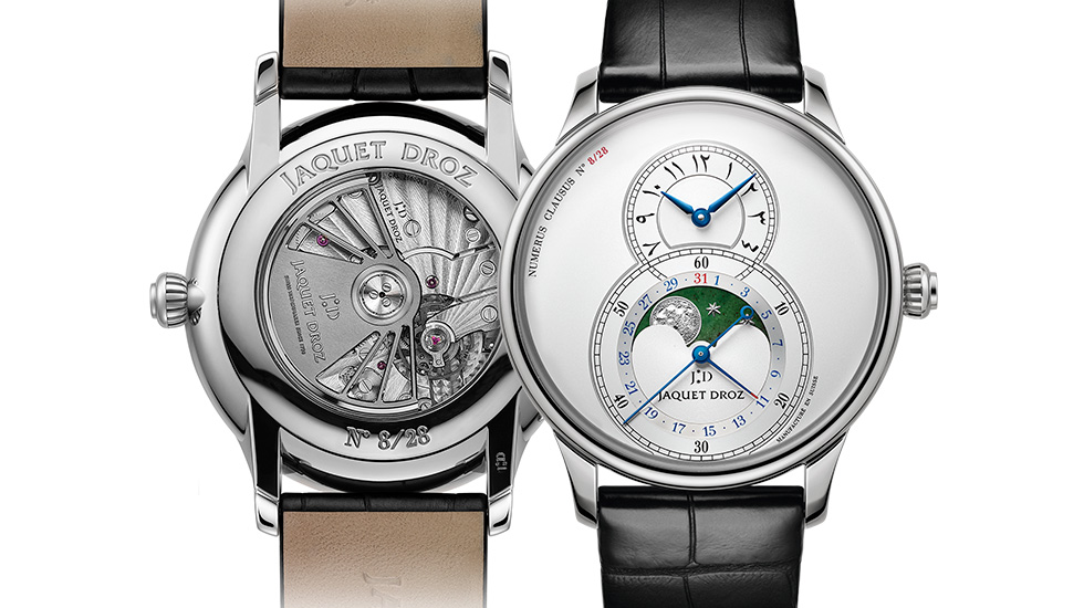 Jaquet Droz, Grande Secode Moon Limited Edition Dubai, J007530241, Front Back