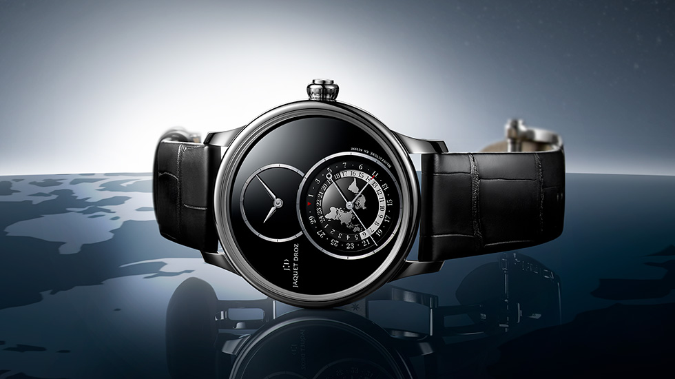 Jaquet Droz, 2109 Novelties, Grande Seconde Dual Time
