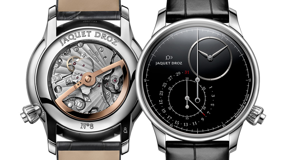 Jaquet Droz, Grande Seconde Off-Centered Chronograph, Front Back
