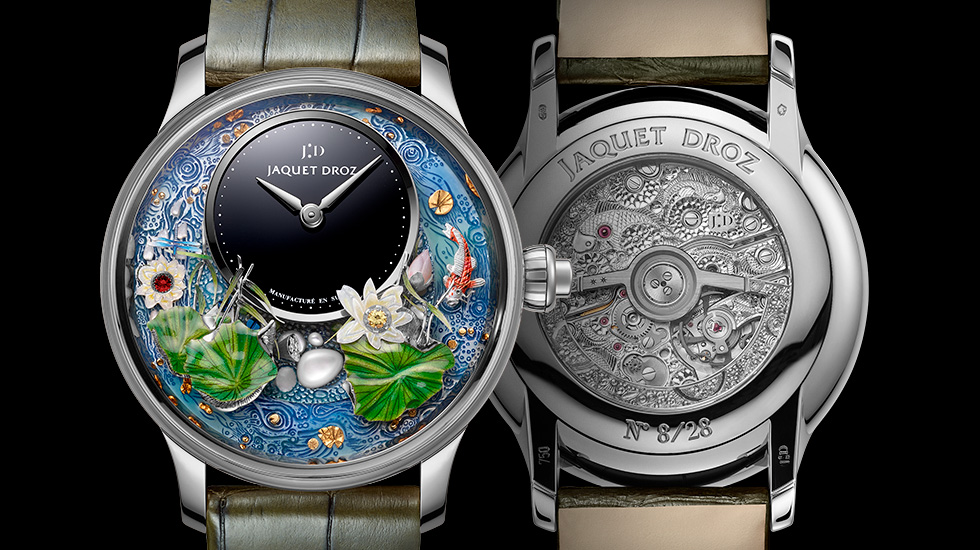 Jaquet Droz, Magic Lotus Automaton, J032634270, Front Back