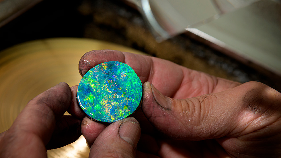 Jaquet Droz, Mineral Workshop, Raw Opal Dial