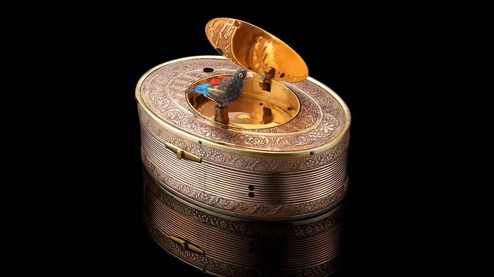 "Jaquet Droz, Mudec, ""Robot. The Human Project"", Snuff Box, Ambiance"