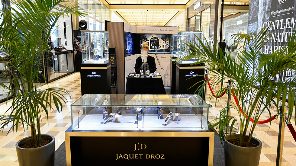 Jaquet Droz, Baselworld 2017 NovelThe Story Of The Unique, Singapore