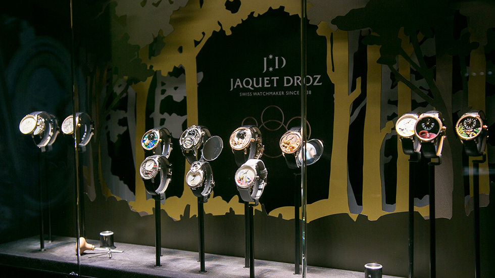 Jaquet Droz, The Story the Of Unique, Moscow, Collection Swowcase