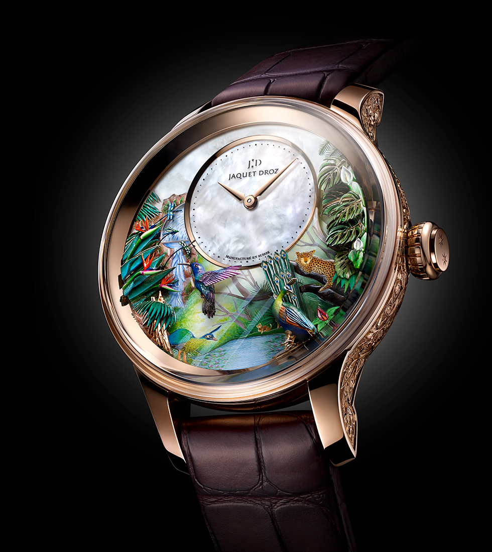 Jaquet Droz, JMOT X 2018, Tropical Bird Repeater, J033033204, Ambiance