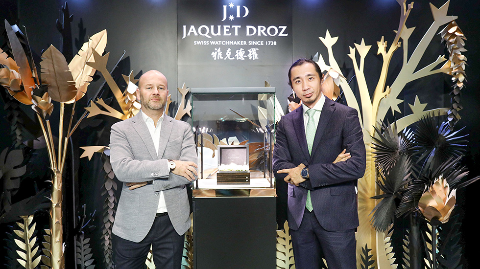 Jaquet Droz, Tropical Bird Repeater Event, Beijing, Representatives