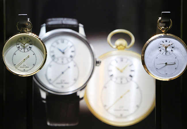 JAQUET DROZ LAS VEGAS EXHIBITION GRANDE SECONDE
