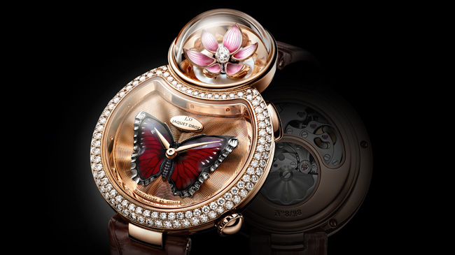 Lady 8 Flower Red Gold J032003200