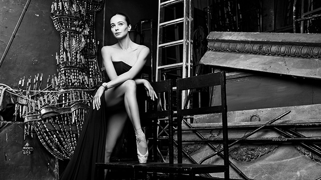 Jaquet Droz, Diana Vishneva, Grande Seconde Circled