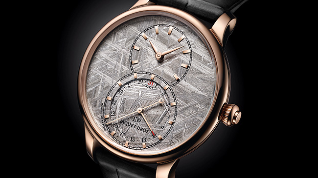 Jaquet Droz, Japan Opening, Boutique Exclusive Meteorite Piece