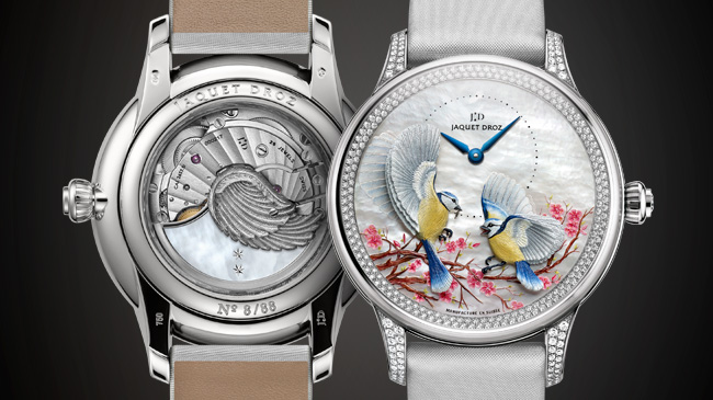 Jaquet Droz, J013013580, Grande Seconde Tourbillon Mother-of-pearl, Front / Back