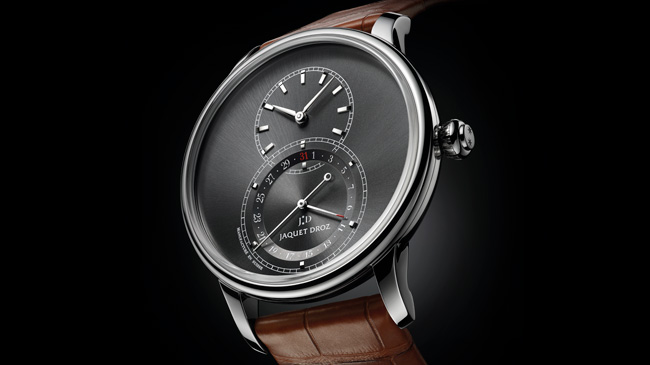 Jaquet Droz, Baselworld 2017 Novelties, J007030248, Grande Seconde Quantieme Satin Brushed, Ambiance