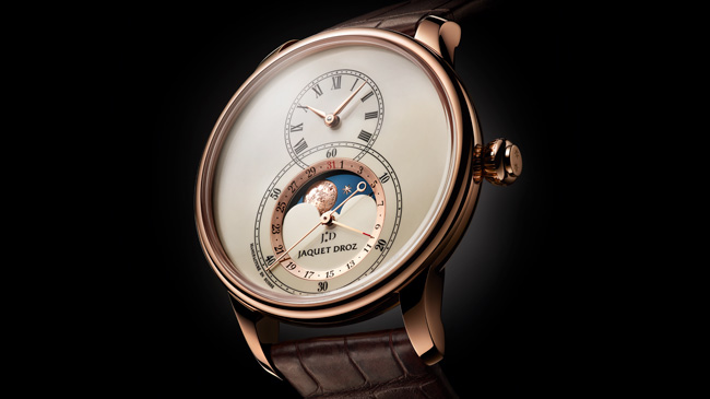 Jaquet Droz, Baselworld 2017 Novelties, J007533200, Grande Seconde Moon Ivory Enamel, Ambiance