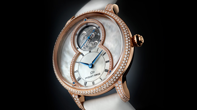 Jaquet Droz, Baselworld 2017 Novelties, J013013580, Grande Seconde Tourbillon Mother-Of-Pearl, Ambiance