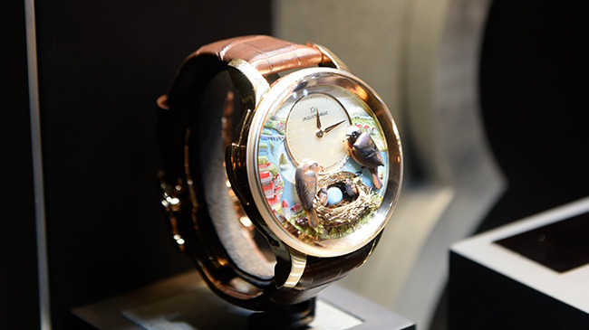 Jaquet Droz, 2017 Novelties Singapore, Bird Repeater Fall Of The Rhine