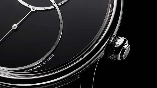 Jaquet Droz, Grande Seconde Off-Centred, Crown at four O'clock