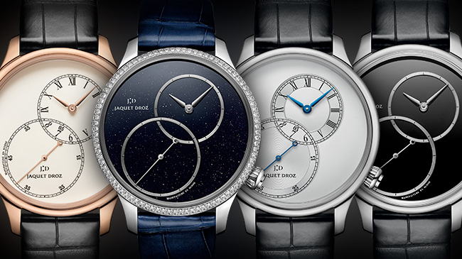 Jaquet Droz, Grande Seconde Off-Centred, Four new models