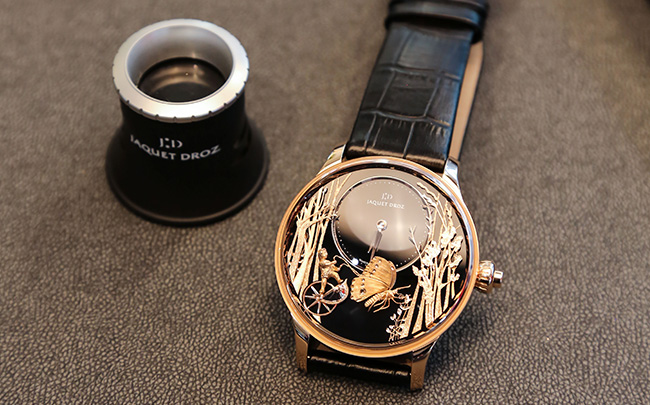 Jaquet Droz, Geneva Boutique Intimate Gathering, J032533270, Loving Butterfly Automaton