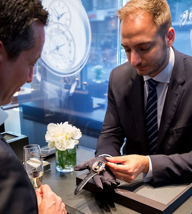 Jaquet Droz, Geneva Boutique Intimate Gathering, Private presentation, J032533270, Loving Butterfly Automaton