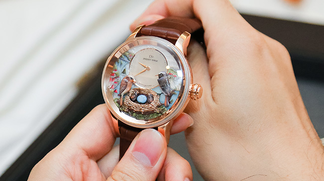 Jaquet Droz, Bird Event, Vietnam, Bird Repeater, J031033206