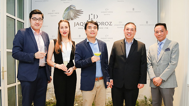 Jaquet Droz, Bird Event, Vietnam, Press Wall