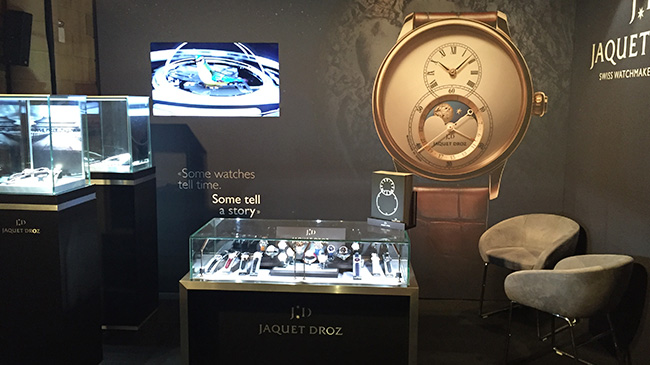 Jaquet Droz, WatchTime New York, Charming Bird, Loving Butterfly Automaton, Showcase