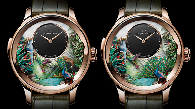 Jaquet Droz, Tropical Bird Repeater, J033033200, Animation