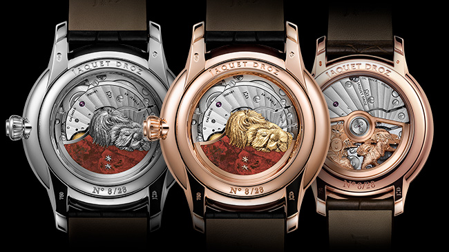 Jaquet Droz, Chinese New Year, J005013219, J005003223, J005003223, Petite Heure Minute Dog, Trio Back