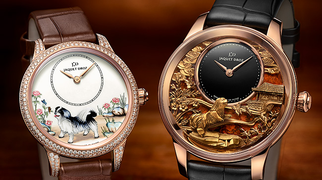 Jaquet Droz, Chinese New Year, Petite Heure Minute Dog