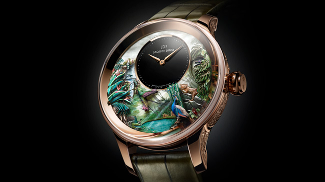Jaquet Droz, Baselworld 2018 Novelties, Tropical Bird Repeater, Ambiance