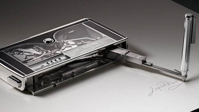 Jaquet Droz, Signing Machine, Ambiance