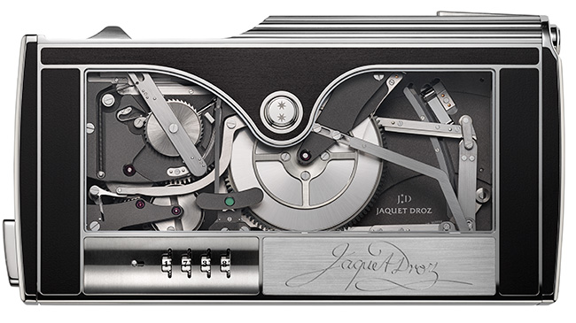 Jaquet Droz, Signing Machine, Front