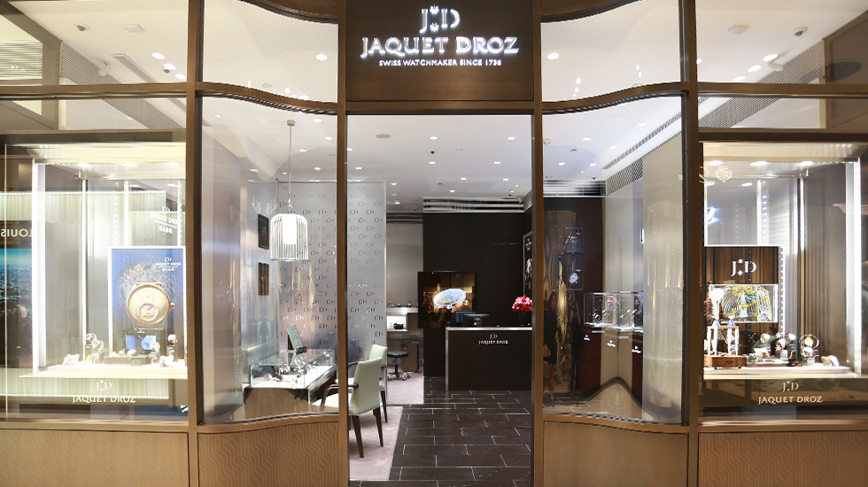 Jaquet Droz, Boutique opening, Xi'An, China, Boutique view