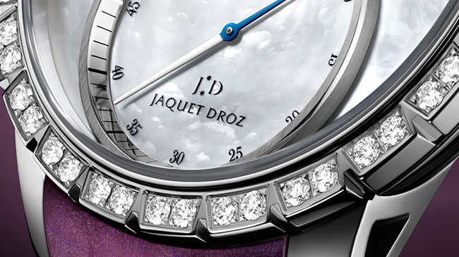 Jaquet Droz, J029020270, Grande Seconde SW Lady, Close-Up
