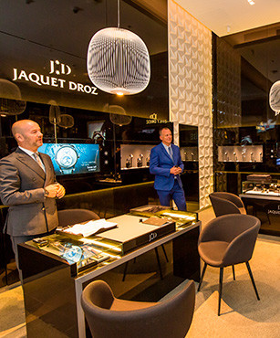 JAQUET DROZ UNVEILS ITS 2019 NOVELTIES AT DUBAI MALL