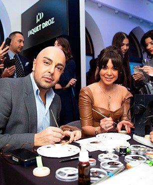 Jaquet Droz, collaboration with Italdizain, Azerbaijan