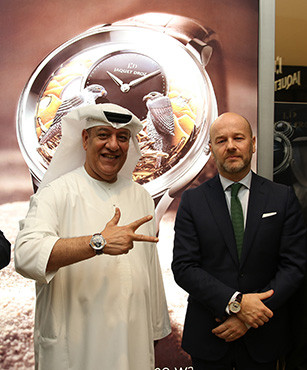 JAQUET DROZ UNVEILED A ONE-OF-A-KIND WATCH AT DUBAI MALL EXCLUSIVELY FOR DUBAI SHOPPING FESTIVAL