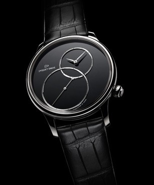GRANDE SECONDE OFF-CENTERED, THE ESSENCE OF BLACK