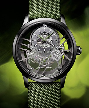 Jaquet Droz, Grande Seconde Skelet-One 2021